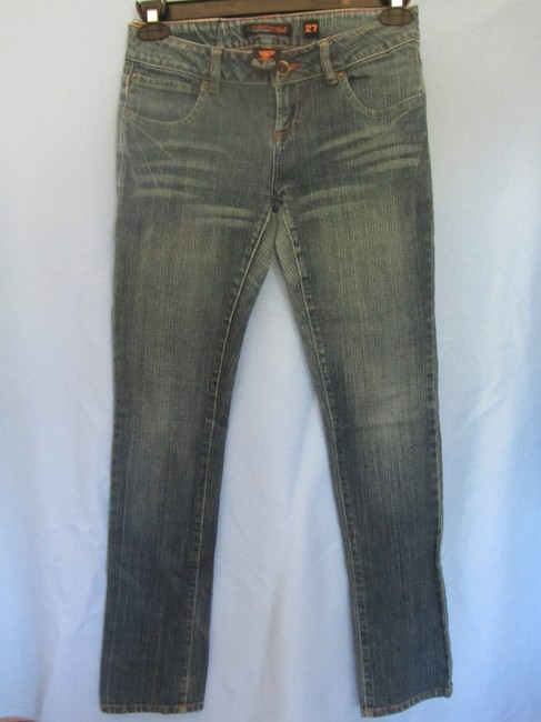 Ed Hardy Straight Leg Jeans-Distressed Image 2