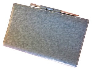 Herms Hermes Agenda Notebook Cover With Silver Pen