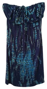 Michael Stars short dress Blue Turquoise on Tradesy