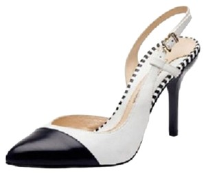 Carolinna Espinosa Black & White Pumps