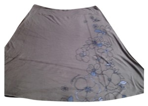 Life is Good Skirt Grey