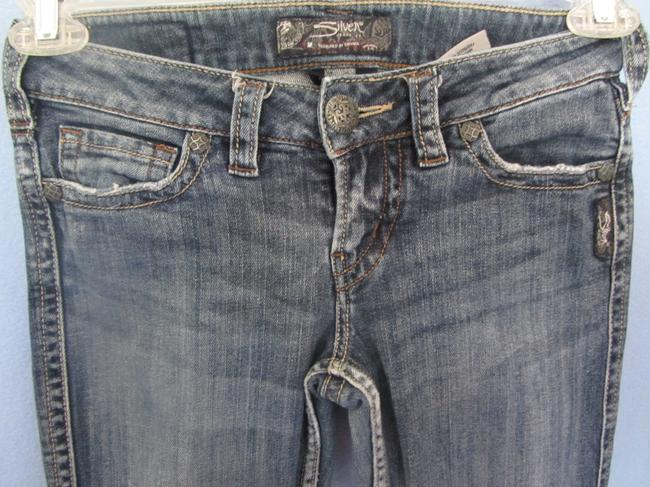 Silver Jeans Co. Boot Cut Jeans-Distressed