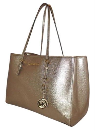 Michael Kors Tote in Pale Gold