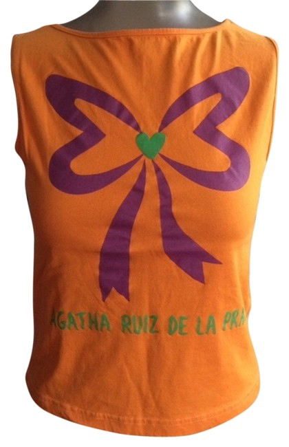 Agatha Ruiz De La Prada Top Orange
