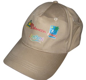Other St. Maarten/St. Martin Caribbean adjustable tan hat