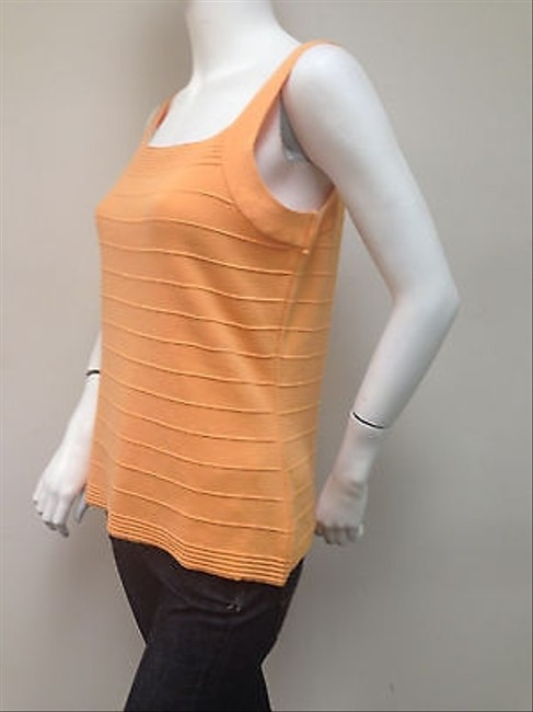 Other Parkhurst Sleeveless Tank Shell Ribbed With Tags Sweater