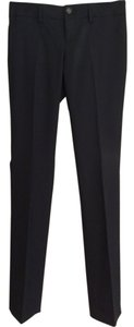 Banana Republic 95% Wool 5% Elastine Fully Lined Straight Pants Black