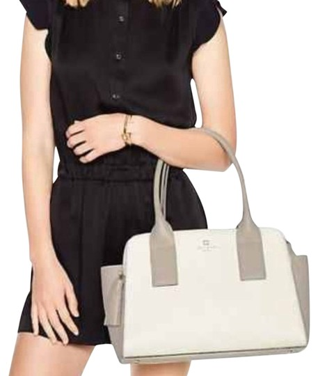 Preload https://item5.tradesy.com/images/kate-spade-southport-avenue-lydia-cream-gray-leather-satchel-4664059-0-2.jpg?width=440&height=440