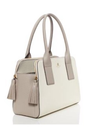 Kate Spade Satchel in Cream / Gray