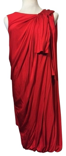 Preload https://item5.tradesy.com/images/31-phillip-lim-red-draped-silk-jersey-mid-length-cocktail-dress-size-12-l-4664074-0-1.jpg?width=400&height=650