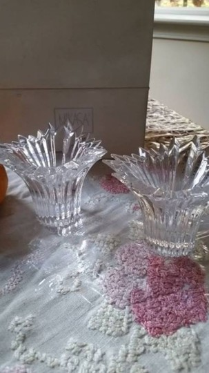 Mikasa NEW Mikasa Dante Candleholders set of 2, new in box made in Germany