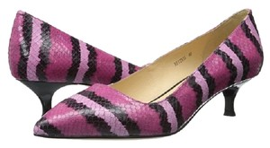 Sesto Meucci Hot Pink/Black Pumps