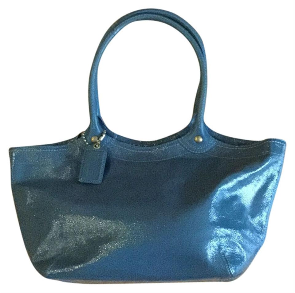 Coach 12362 Blue Tote Bag