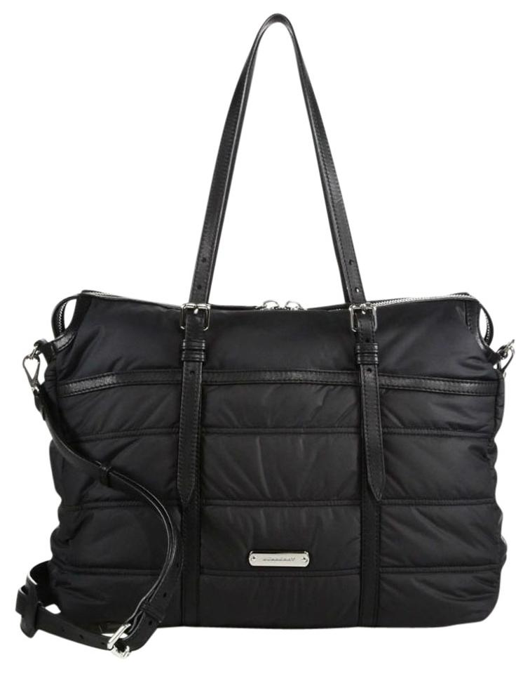 Burberry Abbey Quilted Nylon Black 43 Off Burberry Baby