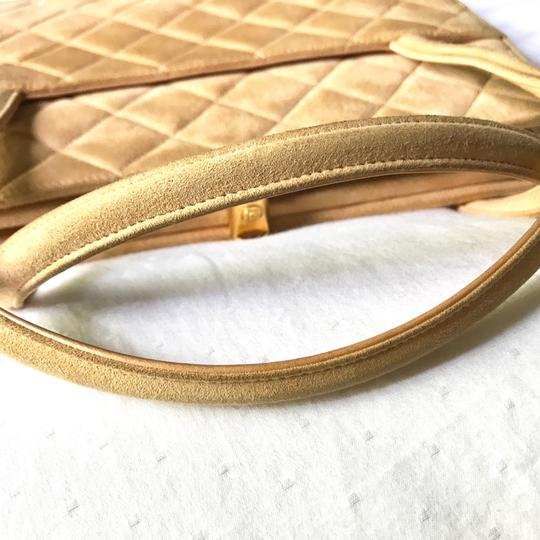 Chanel Tote in Peach Nude