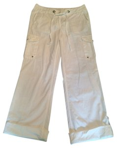 J.Crew Favorite Fit 100% Cotton Cargo Pants White