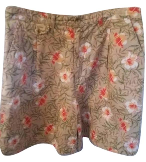 White Stag Shorts beige/floral