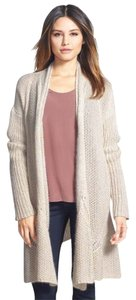 Eileen Fisher Mohair Blend Open-front Cardigan