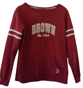 Brown University Crew Neck College Bears Sweatshirt