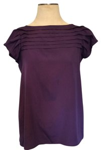 Target Purple Flutter Sleeves Top Plum
