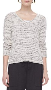 Eileen Fisher Cotton Blend V-neck Sweater