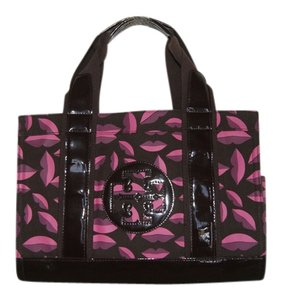 Tory Burch Tote in Purple Multi