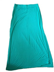 The Limited Pet And Smoke Free Slitted Maxi Skirt Green