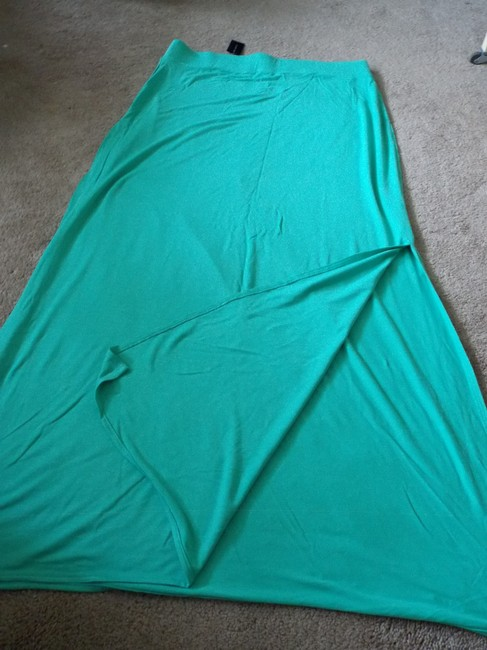 The Limited Pet And Smoke Free Maxi Skirt Green