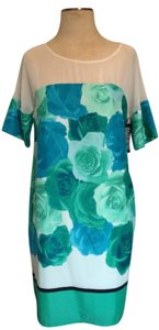 New York & Company Summer Chiffon Floral Dress