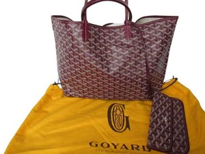 Goyard Almost New Used Few Times Very Good Conditions Tote in Bordeaux