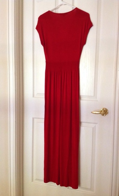 Red Maxi Dress by Sportscraft
