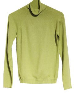 Burberry London Turtleneck Lime Tradesy Sale Sweater