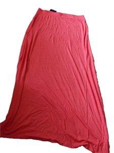 The Limited Slitted Pet And Smoke Free Maxi Skirt Red