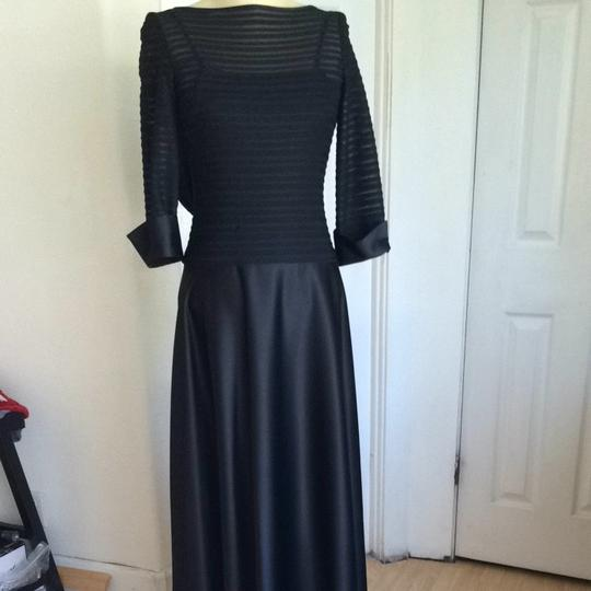 Nordstrom Black Polyester Bridesmaid/Mob Dress Size 2 (XS)