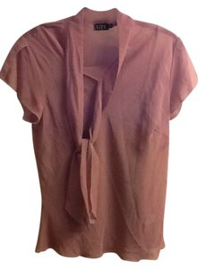 Short Sleeve Top Mauve