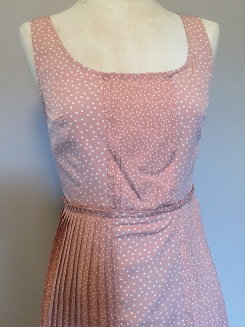 LC Lauren Conrad Polka Dot Pleated Dress