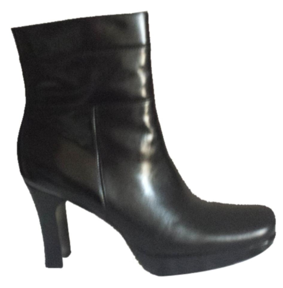 2537636d684 Nine West Black M Calendaro Leather Boots/Booties Size US 7.5 Regular (M, B)