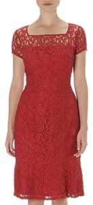 Adrianna Papell Lace Designer Dress