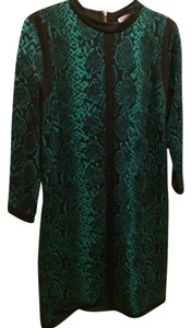 Preload https://item2.tradesy.com/images/juicy-couture-black-green-gold-knee-length-cocktail-dress-size-12-l-4669861-0-0.jpg?width=400&height=650