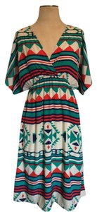 My Story short dress Multicolor Aztec Summer Fall Autumn Tribal on Tradesy