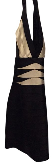 Preload https://item1.tradesy.com/images/bcbgmaxazria-black-and-white-above-knee-cocktail-dress-size-2-xs-4670560-0-0.jpg?width=400&height=650