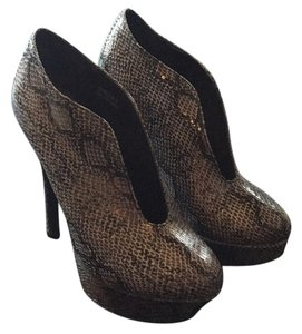 Tinley Road Black snakeskin Boots