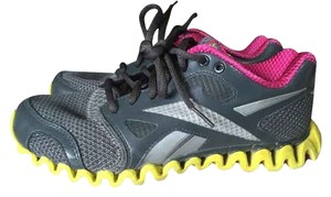 Reebok Running Zig Grey/Pink/Yellow Athletic