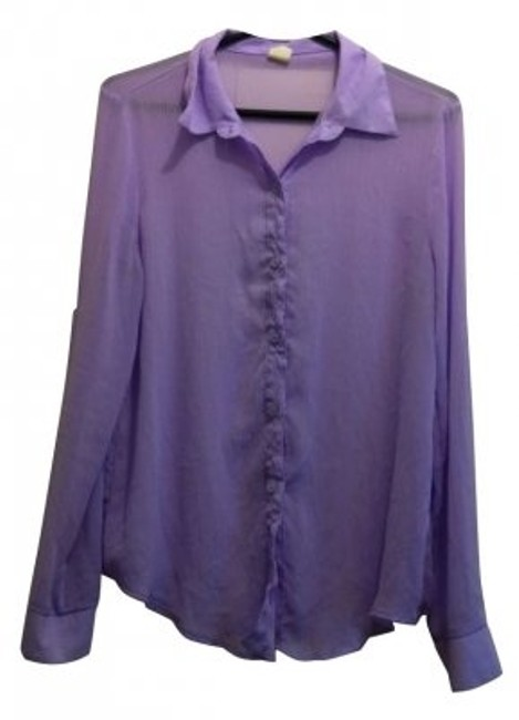 Preload https://item3.tradesy.com/images/nasty-gal-lavender-button-down-top-size-8-m-4672-0-0.jpg?width=400&height=650