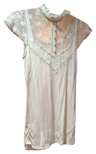 Free People Top Tan