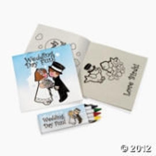 Other Wedding Place Mats and Coloring Kits For Kids