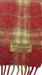 Burberry Burberry pink plaid scarf (RESERVED FOR MARY)