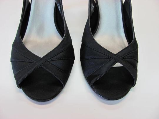 Mootsies Tootsies Very Good Condition Fabric Upper Leather Sole Size 9 black Formal