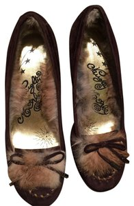 Naughty Monkey Brown Suede Pumps