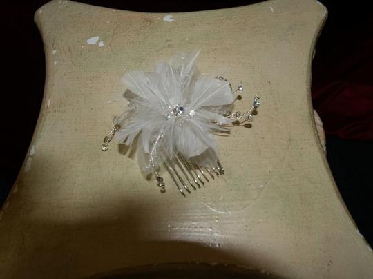 Hair Accessory Feather Flower For Bride